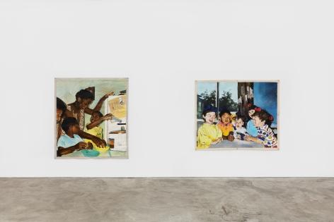 Installation View 7 of Kareem-Anthony Ferreira: First Foundation (September 12–October3, 2020). Nino Mier Gallery, Los Angeles, CA