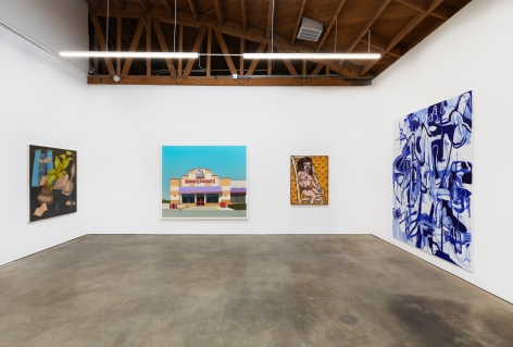 Installation shot of Five Year Anniversay Show (June 27–August 31, 2020). Nino Mier Gallery, Los Angeles, CA 12