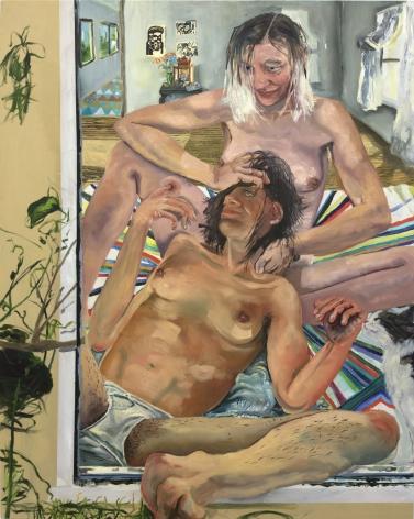 Celeste Dupuy-Spencer Sarah, 2017 Oil on linen 65 x 50 in 165.1 x 127 cm (CDS17.034)