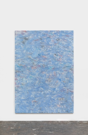 Dashiell Manley above it all and falling fast, 2021 Oil on linen 84 x 60 in 213.4 x 152.4 cm (DMA21.004)