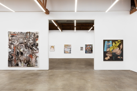 Installation shot 10 of Five Year Anniversay Show (June 27–August 31, 2020). Nino Mier Gallery, Los Angeles, CA