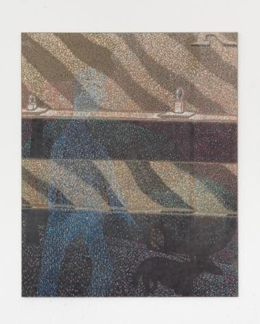 Maximilian Kirmse, R.E.F., 2018, Oil on linen, 63 x 51 1/8 in (160 x 130 cm), MK18.006