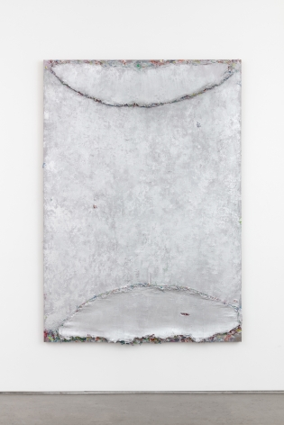 Andrew Dadson Silver Moon, 2021 Oil and acrylic on linen 73 1/2 x 51 1/4 x 3 1/4 in 186.7 x 130.2 x 8.3 cm (ADA21.009)
