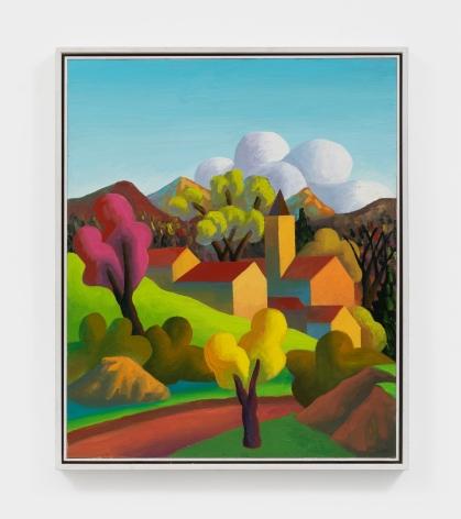 Salvo Ottobre, 2001 Oil on canvas 23 5/8 x 19 3/4 in 60 x 50 cm (SAL20.002)