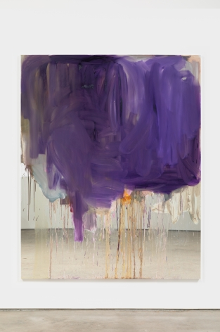 Peter Bonde NOT YET TITLED, 2021 Oil on mirror foil 78 3/4 x 63 in 200 x 160 cm (PB21.019)