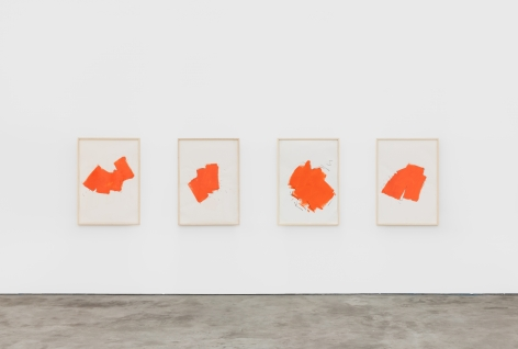 Installation view 4 of Imi Knoebel: Works from the Seventies (November 9-December 21, 2019) at Nino Mier Gallery, Los Angeles