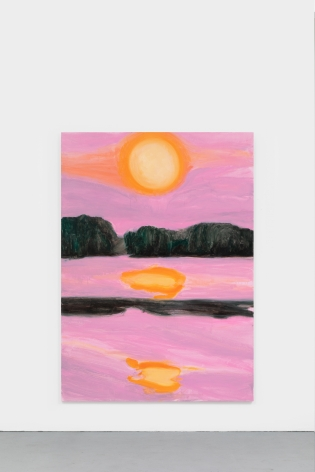 Nicole Wittenberg Sunset 3, 2021 Oil on canvas 84 x 60 in 213.4 x 152.4 cm (NWI21.002)