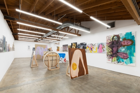 Installation view 9 of To Paint is To Love Again, Curated by Olivier Zahm (January 18-28, 2020) at Nino Mier Gallery, Los Angeles
