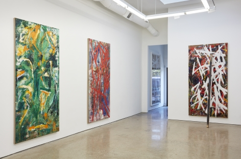 Installation View 10 of Spencer Lewis Evil Baby Bully Part Object Paintings (October 8 – November 19, 2016) Nino Mier Gallery, Los Angeles, CA