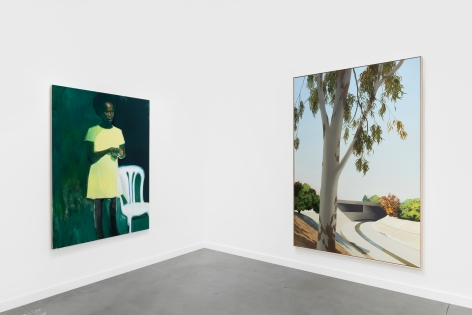 Installation View of Nino Mier Gallery at Frieze New York, 2021 (May 5-9, 2021)