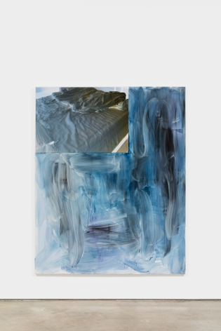 Peter Bonde BED, 2021 Oil on canvas 78 3/4 x 63 in 200 x 160 cm (PB21.001)