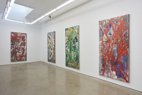 Installation View 3 of Spencer Lewis Evil Baby Bully Part Object Paintings (October 8 – November 19, 2016) Nino Mier Gallery, Los Angeles, CA