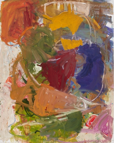 Anke Weyer Sweet Music, 2015 oil and acrylic on canvas 74 x 59 in 187.96 x 149.86 cm (AW15.003)