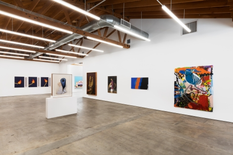 Installation shot 2 of Five Year Anniversay Show (June 27–August 31, 2020). Nino Mier Gallery, Los Angeles, CA