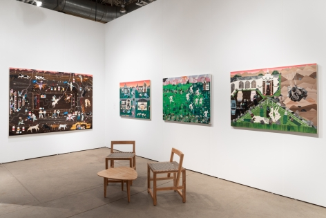 Installation view 2 of Expo Chicago, 2019
