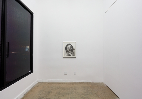 Installation View of Arnulf Rainer, Untitled (Face Farces) , 1970-75 ink, graphite, wax pencil on photograph 59.3 x 47.7 cm (ARA19.012)