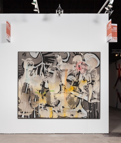 EXPO Chicago 2015, Installation view: Exterior wall view 2