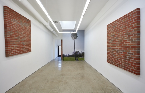 Installation View 6 of Killian Rüthemann Motion With (December 10, 2016 – March 31, 2017). Nino Mier Gallery, Los Angeles, CA
