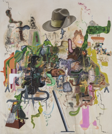 Michael Bauer, Creme Dream 4, 2015. Oil on canvas, 72 x 60 inches, 183.7 x 152.7 cm (MB15.002)
