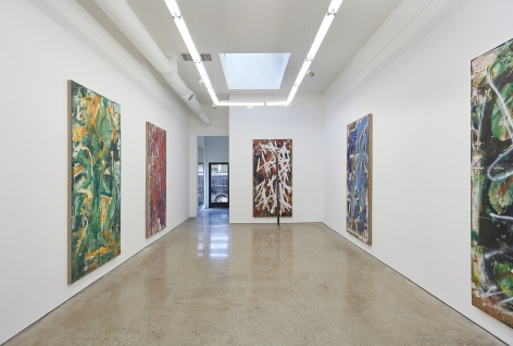 Installation View 6 of Spencer Lewis Evil Baby Bully Part Object Paintings (October 8 – November 19, 2016) Nino Mier Gallery, Los Angeles, CA