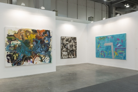 Installation view 2 of Zona Maco, Mexico City, 2020