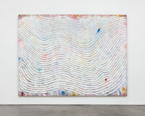 Andrew Dadson Drifting Wave, 2021 Oil and acrylic on linen 78 x 104 x 2 3/4 in 198.1 x 264.2 x 7 cm (ADA21.005)