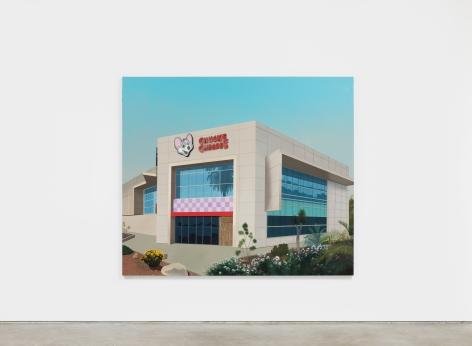 Jake Longstreth Corona, 2021 Oil on canvas 72 x 84 in 182.9 x 213.4 cm (JLO21.016)