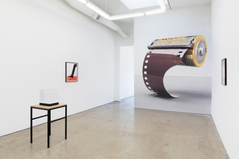 Installation view of Alwin Lay: Rollout (July 20 – August 31, 2019) at Nino Mier Gallery, Los Angeles