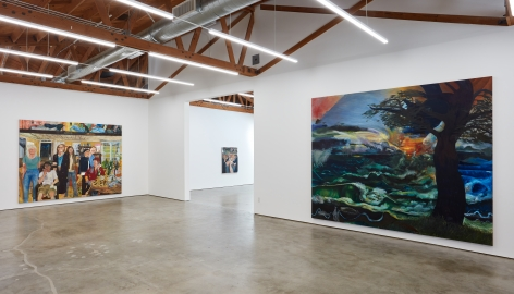 Installation view 8 of Celeste Dupuy-Spencer: The Chiefest of Ten Thousand (September 22-November 3, 2018), Nino Mier Gallery, Los Angeles