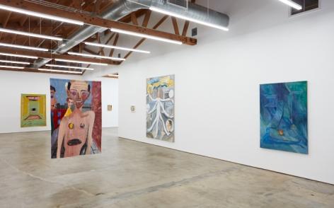 Installation of Tomasz Kowalski: Release of Everlasting Somersault (November 17 - December 29, 2018), Nino Mier Gallery, Los Angeles, CA