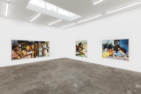 Installation View 6 of Kareem-Anthony Ferreira: First Foundation (September 12–October3, 2020). Nino Mier Gallery, Los Angeles, CA