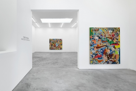 Installation View of Cindy Phenix: Particles of Abnormality (October 17–November 14, 2020). Nino Mier Gallery, Los Angeles, CA 4