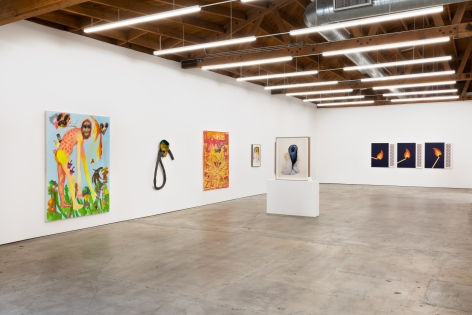 Installation shot 3 of Five Year Anniversay Show (June 27–August 31, 2020). Nino Mier Gallery, Los Angeles, CA