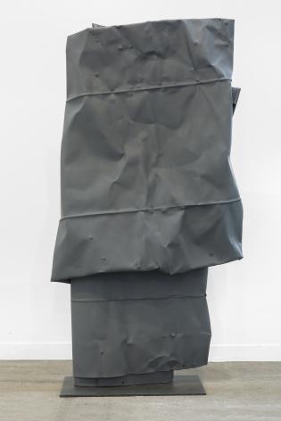 Anna Fasshauer, Deep Pockets, 2019, Metal paint on aluminum, 51 x 29 x 7 in (130 x 73 x 19 cm), AF19.001
