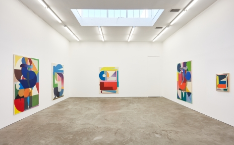 Installation view 2 of Bernard Buhmann: My Automatic Me (October 6 - November 17, 2018) at Nino Mier Gallery, Los Angeles