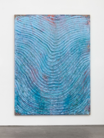 Andrew Dadson Blue Wave, 2021 Oil and acrylic on linen 80 x 60 x 2 1/2 in 203.2 x 152.4 x 6.3 cm (ADA21.007)