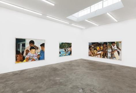 Installation View 5 of Kareem-Anthony Ferreira: First Foundation (September 12–October3, 2020). Nino Mier Gallery, Los Angeles, CA
