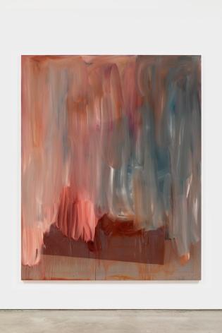 Peter Bonde UNTITLED 1994, 2021 Oil on mirror foil 78 3/4 x 63 in 200 x 160 cm (PB21.021)