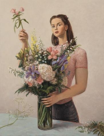 Jansson Stegner Flower Shop, 2018 Oil on linen 45 x 35 in 114.3 x 88.9 cm (JAS18.008)