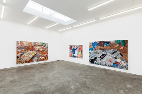 Installation View 6 of Rebecca Ness: Pieces of Mind (July 10–August 31, 2020). Nino Mier Gallery, Los Angeles, CA