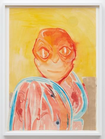 Tomasz Kowalski, Untitled, 2018. Watercolor on paper, 24 x 17 in, 61 x 43.2 cm (TKO18.020)