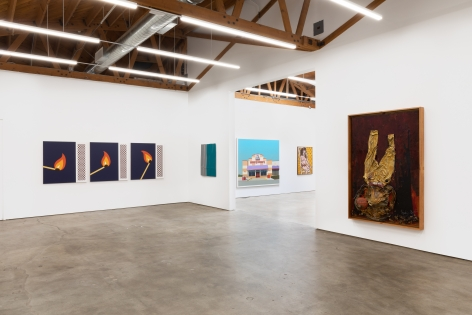 Installation shot 9 of Five Year Anniversay Show (June 27–August 31, 2020). Nino Mier Gallery, Los Angeles, CA