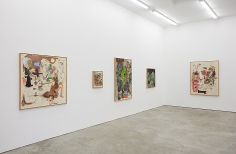 Installation view 6 of Michael Bauer: Soft Paintings (Bearnaise) (January 27 – March 11, 2017), Nino Mier Gallery, Los Angeles