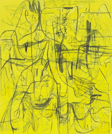 Jana Schröder, Kadlites L5, 2018, Acrylic, graphite and lead on canvas, 94 1/2 x 78 3/4 in (240 x 200 cm), JSR19.008