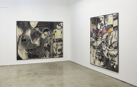 """Installation View of """"MYS/MOS #1"""" and """"MYS/MOS #4"""""""