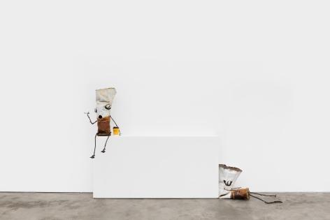 Installation View of Jon Pylypchuk, I know I'll never love this way again, Nino Mier Gallery, Los Angeles