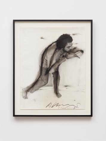Arnulf Rainer, Stein im Hirn, Leben auf der Stirn (Face Farces), 1970-75, Signed Ink, wax pencil and graphite on photography, 23 1/2 x 19 1/8 in (59.7 x 48.7 cm), ARA19.003