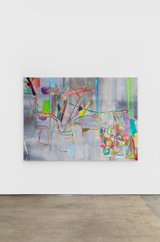 Gerlind Zeilner Atelier, 2018 Oil and egg tempera on canvas 63 x 86 5/8 in 160 x 220 cm (GZE20.006)