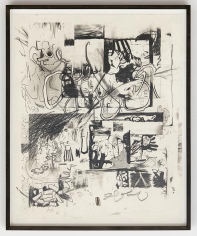 Jan-Ole Schiemann, Osc Mix (series), 2015, Graphite on paper, 23.6 x 19.7 inches (60 x 50 cm), JS15.035