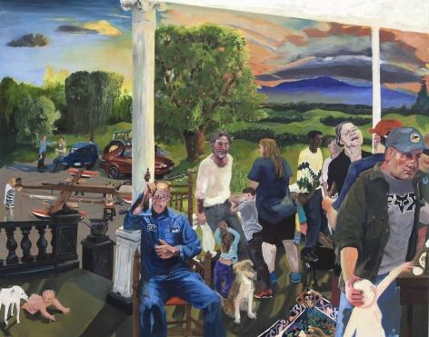 Celeste Dupuy-Spencer Rokeby, 2017 Oil on linen 48 x 60 in 121.9 x 152.4 cm (CDS17.032)